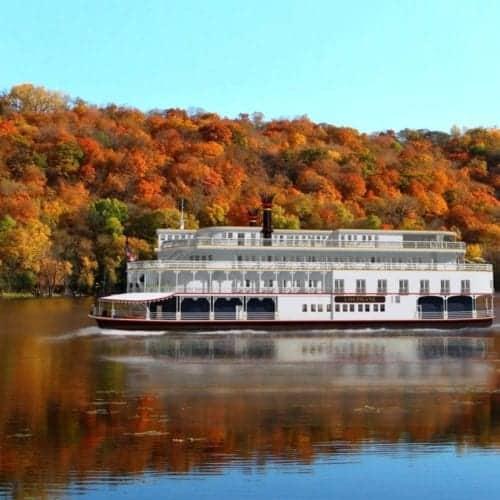 French America Line river ship Louisiane.