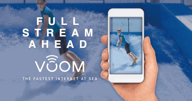 Fast(est) Internet at Sea?  It's Royal Caribbean VOOM Gone Fleetwide!