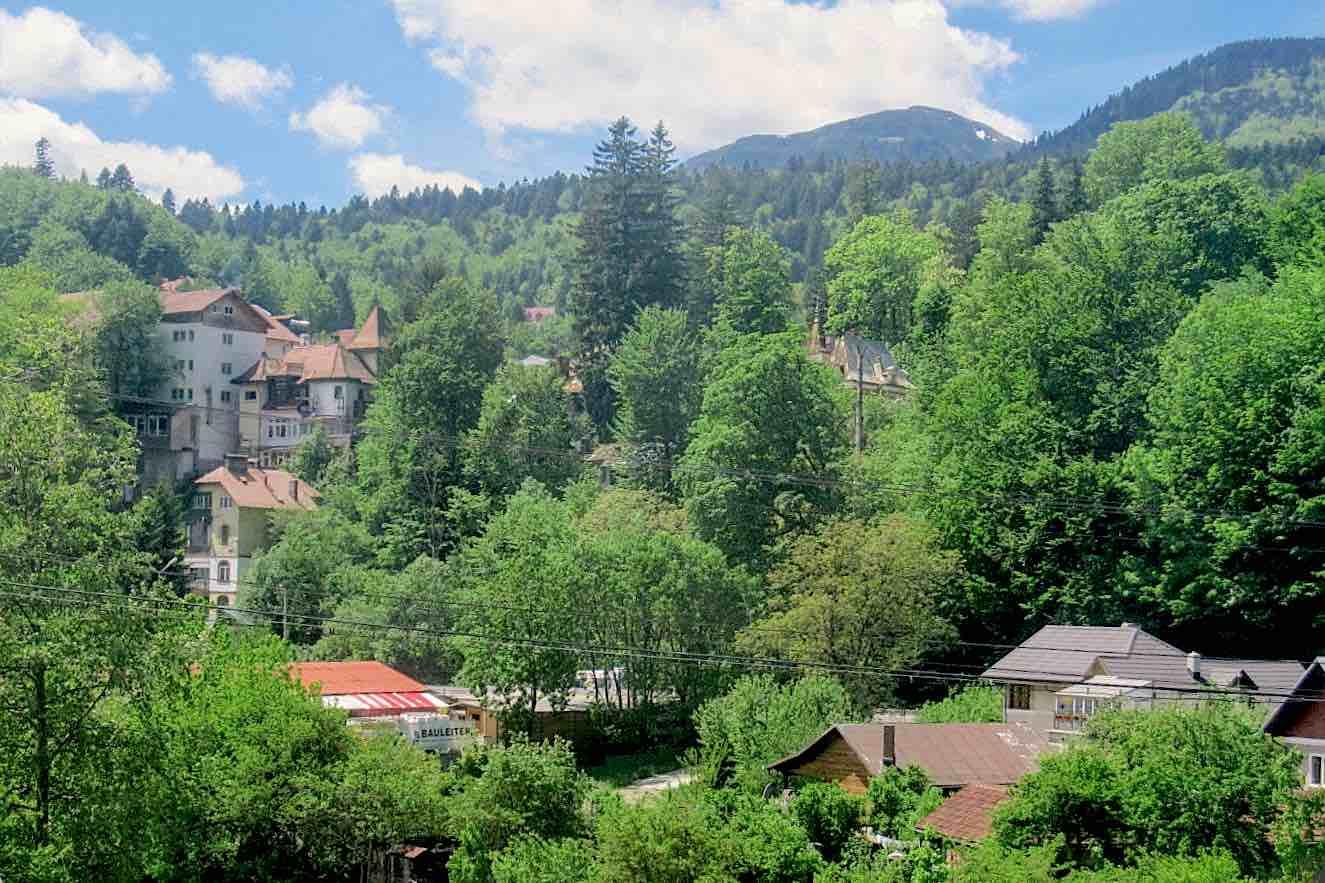 small town in Romania.