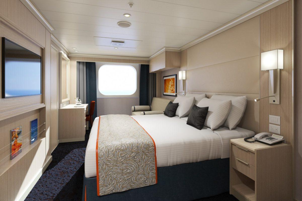 Koningsdam solo oceanview stateroom