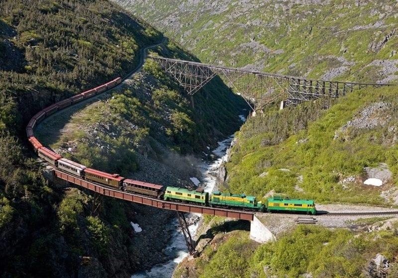 Skagway, Alaska and the White Pass Yukon Railroad