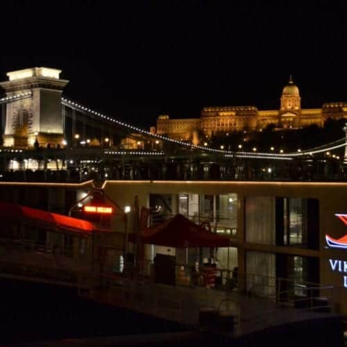 Train to Budapest for Danube river cruise