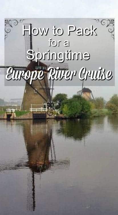 Europe river cruise Kinderijk Pin