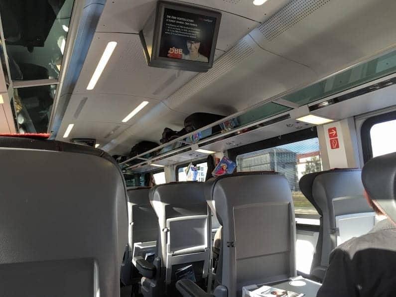 Aboard Austria's OBB Railjet
