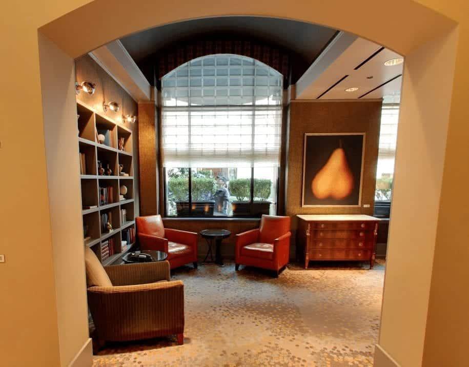 Library Bar Westin Portland Oregon