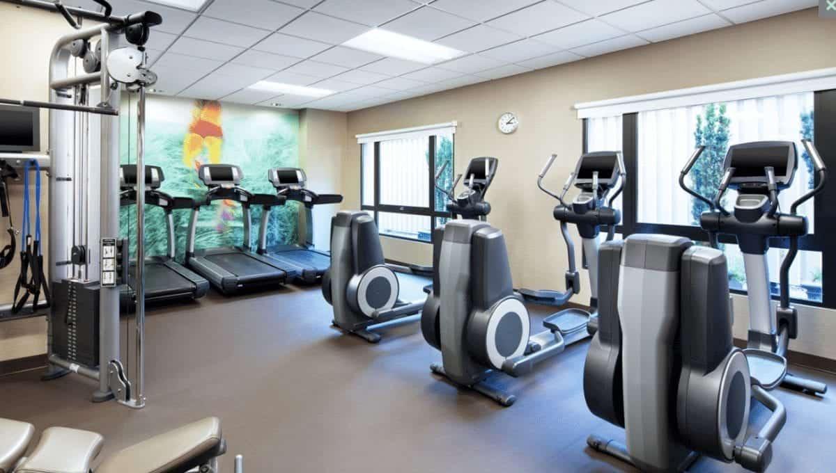 Westin Portland exercise room