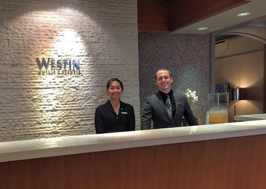 Westin Portland Reception
