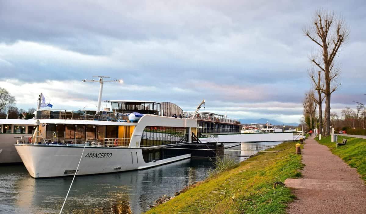 AmaCerto docked in Breisach Germany