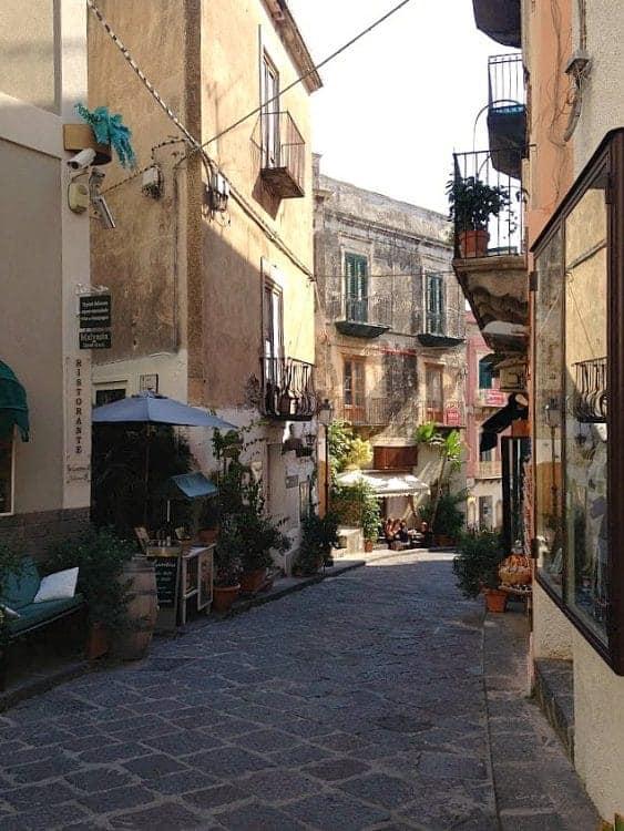 Old town Lipari