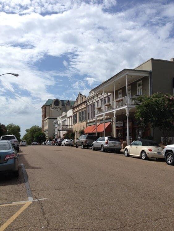 Downtown Natchez, Mississippi
