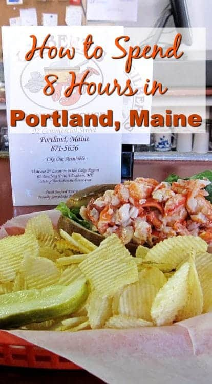 Portland Maine at Gilberts for Lobster