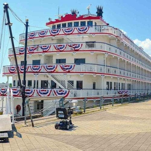 Queen of the Mississippi river ship