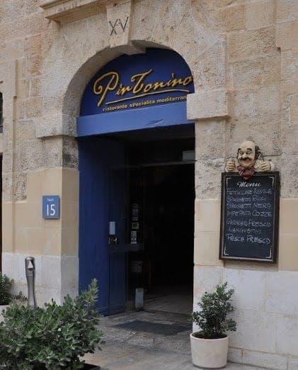 Restaurant in Valletta Malta