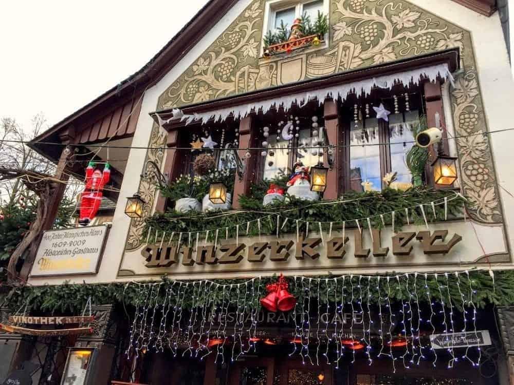 Rudesheim Christmas markets decorations