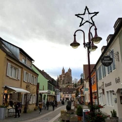Breisach downtown.