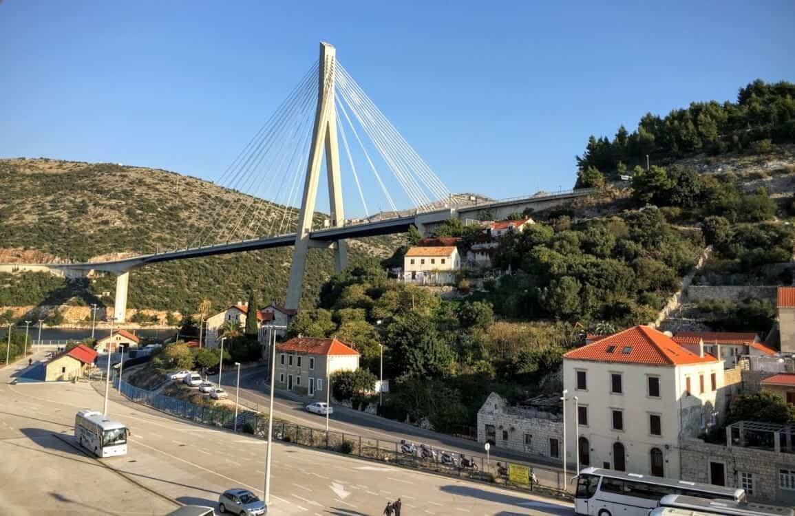 dubrovnik suspension bridge