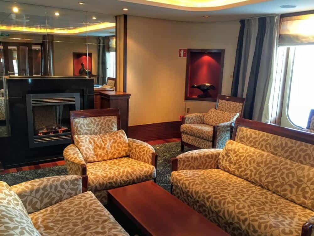 The Board Room is one of my seven secret hideaways aboard Queen Mary 2.