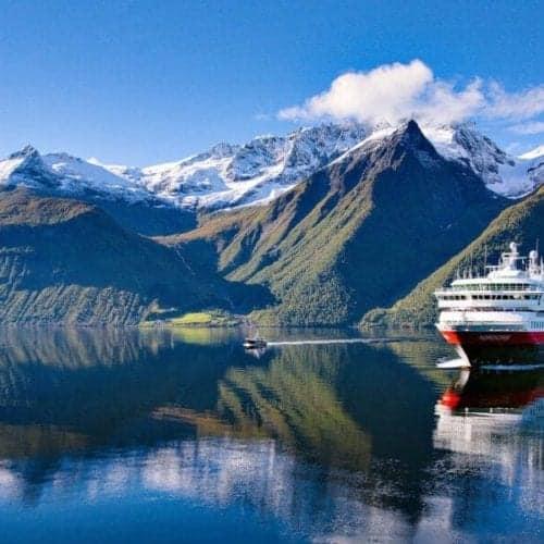 Hurtigruten Norwegian fjord cruise