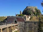 day in corfu bridge to old fortress