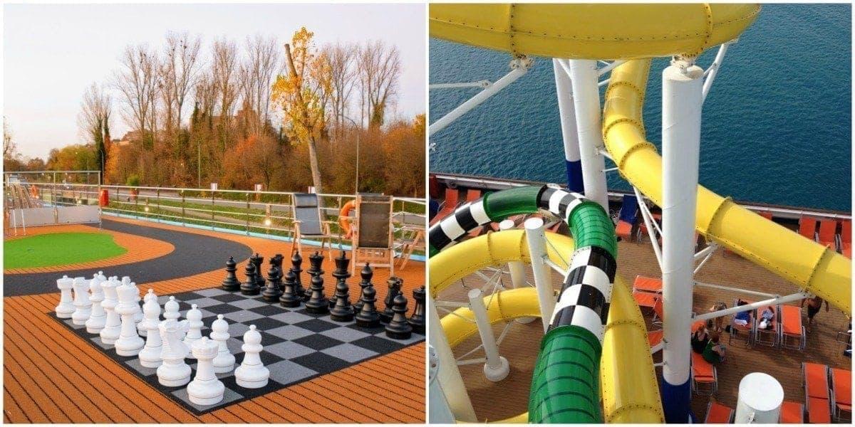 River cruise or ocean cruise fun