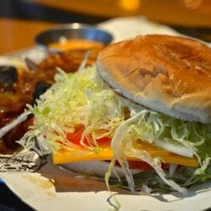 Guy's Burger Joint hamburger recipe for Carnival Cruise Lines