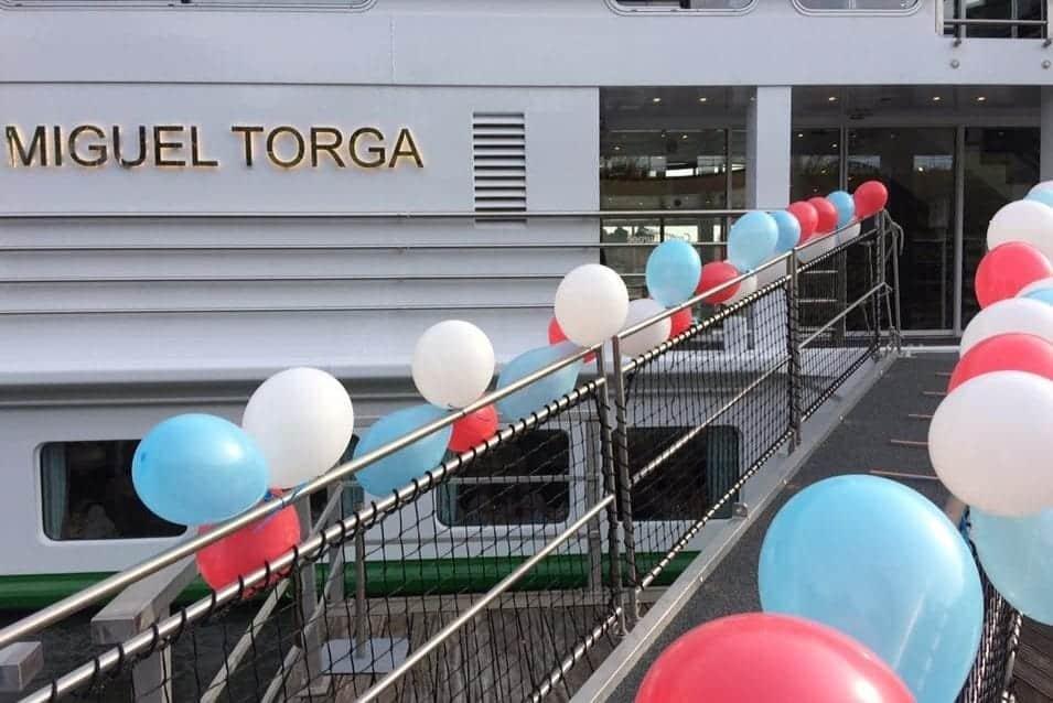 Croisi-Europe-Miguel-Torga-christening-Porto