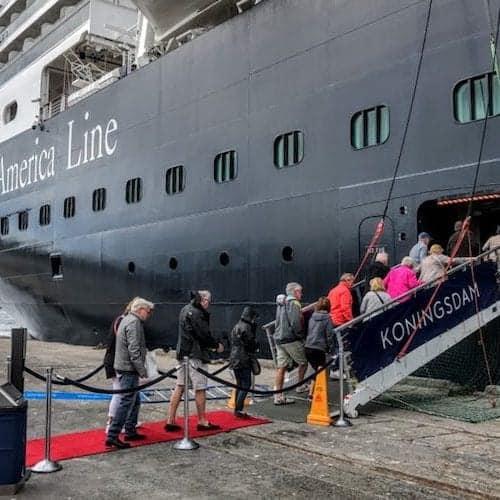 Holland America Transatlantic cruise