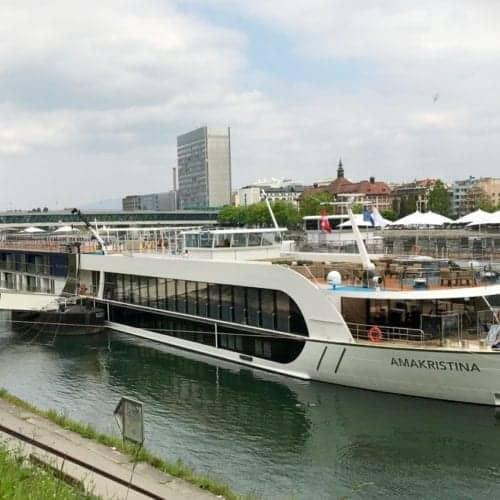AmaWaterways AmaKristina in Basel Switzerland