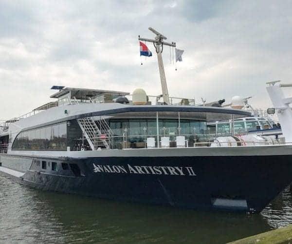 Avalon Waterways Artistry II in Holland
