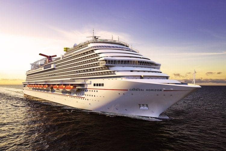 Building of Carnival Horizon