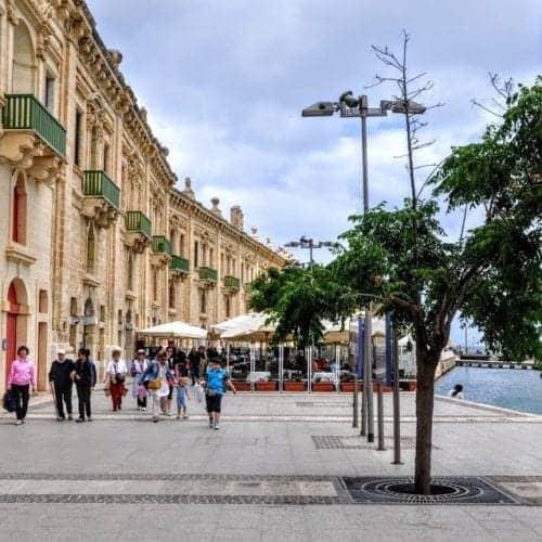 Valletta Malta wins third place
