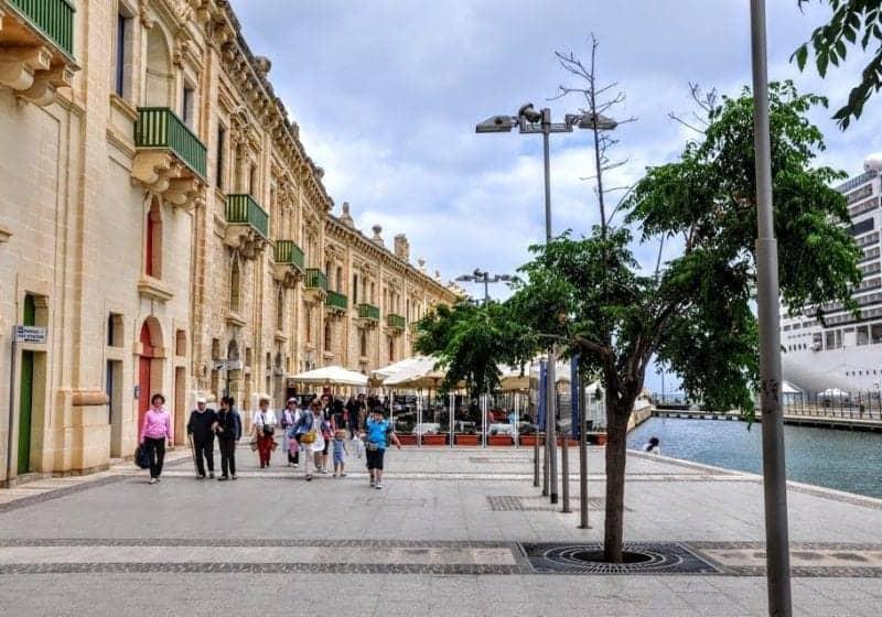 Valletta, Malta Wins Third Place in Western Med Cruise Ports