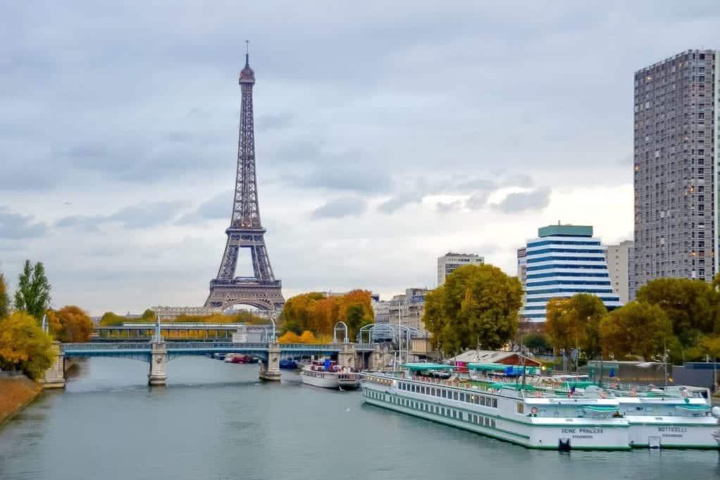 Seine Princess Docked in Paris