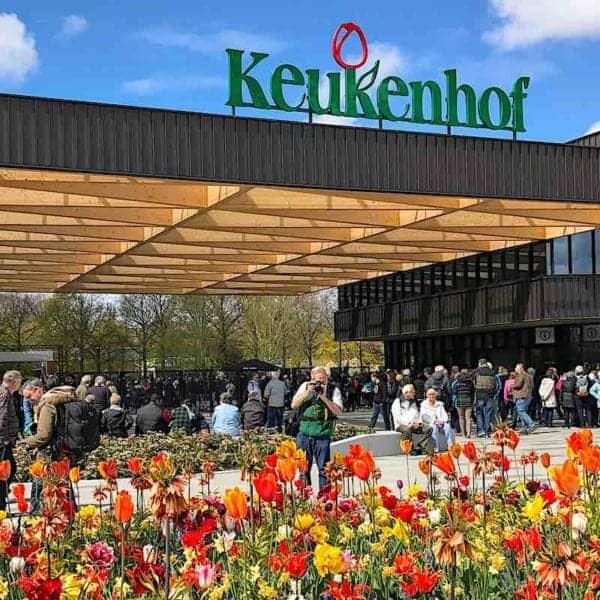 Keukenhof Gardens at Tulip Time in the Netherlands