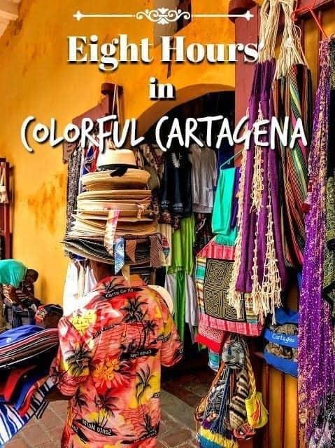 Cartagena Colombia outdoor market