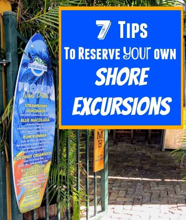 How to Reserve Your Own Shore Excursions and try the Cozumel food tours