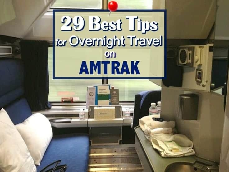 Best Tips for Overnight Travel on Amtrak