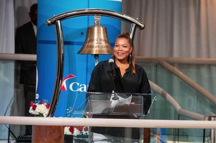 Queen Latifah Gives Carnival Horizon the Royal Treatment