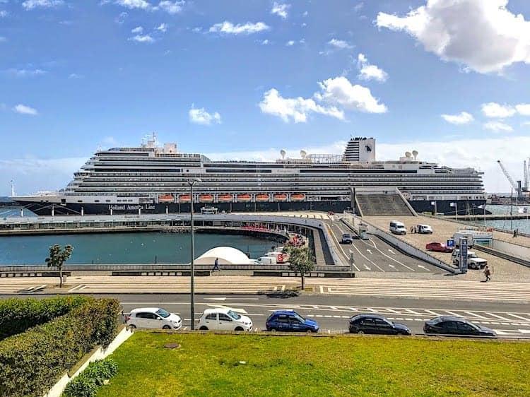 Holland America Koningsdam Transatlantic Crossing - Ponta Delgada
