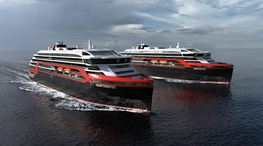 Hurtigruten to Build a Third Hybrid Expedition Ship
