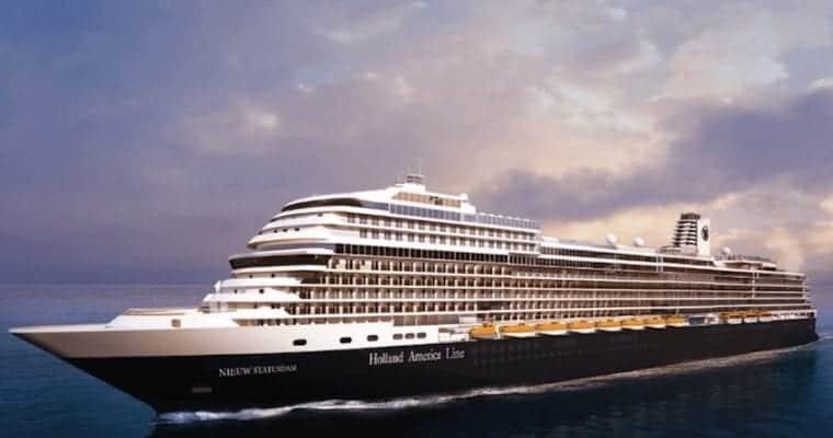 Holland America Nieuw Statendam Deck Plan Details