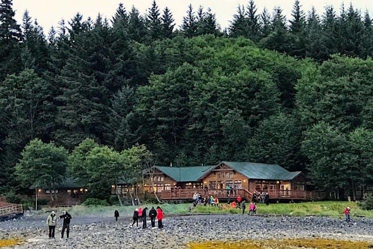 Chichagof Dream dinner at Orca Point Lodge