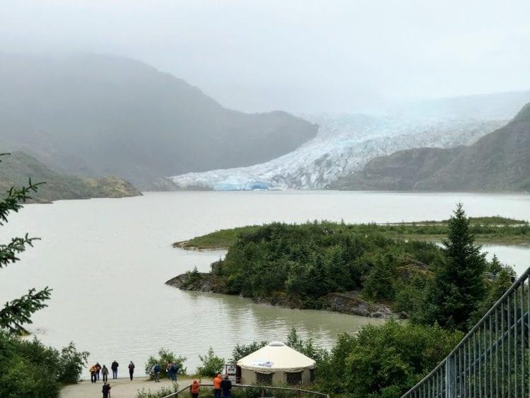 Alaskan Dream Cruises tour to Mendenhall Glacier in Juneau