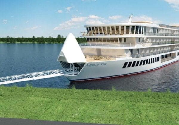 New River Ship Launches for Mississippi River Cruises