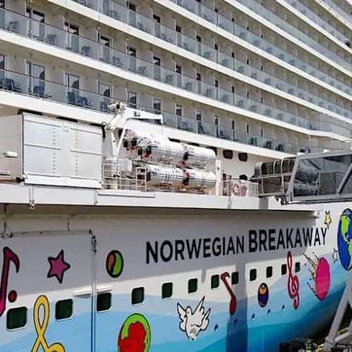 Norwegian Breakaway in New York Harbor