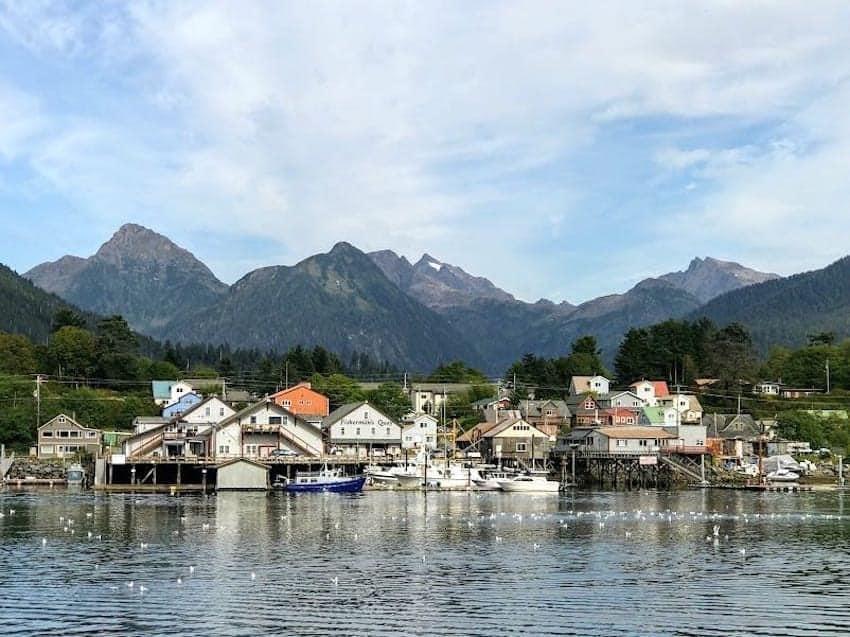Sitka Alaska waterfront
