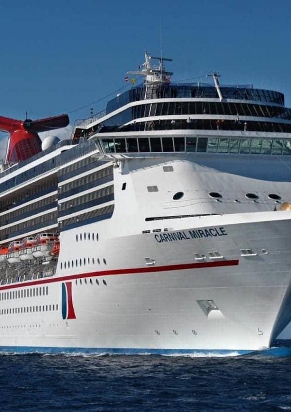 Carnival Miracle Cruises from San Francisco