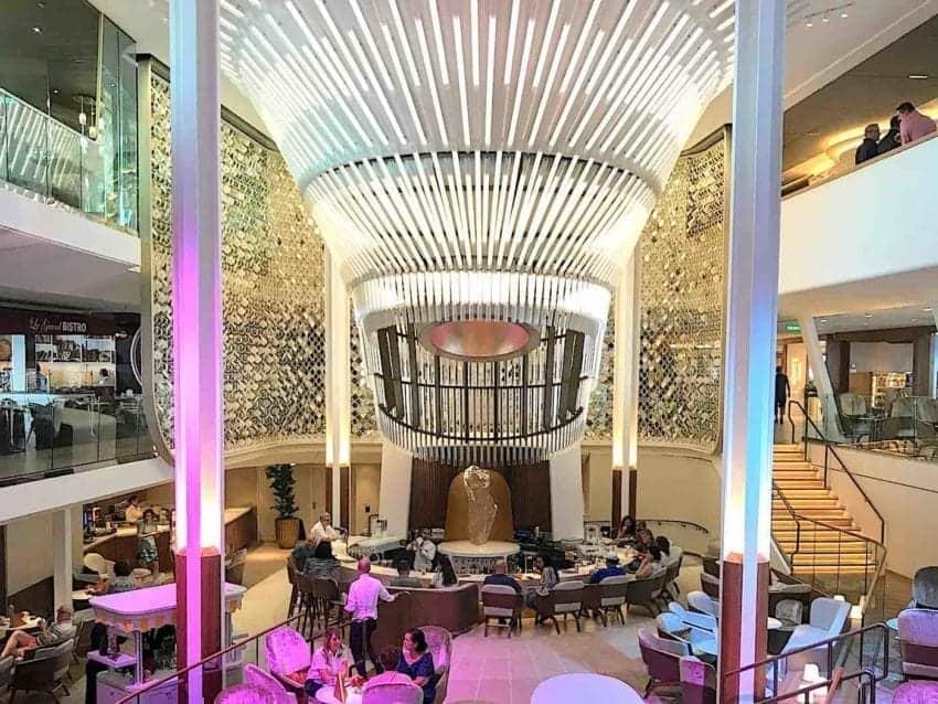 Celebrity Edge Grand Atrium