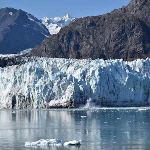 Marjerie Glacier at Glacier Bay Alaskan Dream Cruises