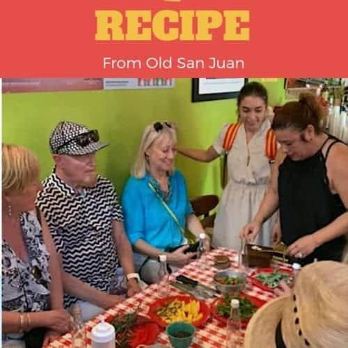 Pique recipe Old San Juan food tour
